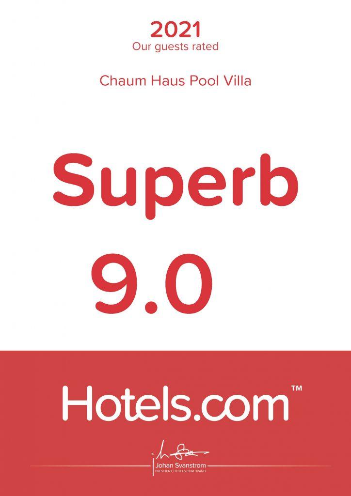 Chaum Haus Pool Villas - Hotels.com Guest Review 2021