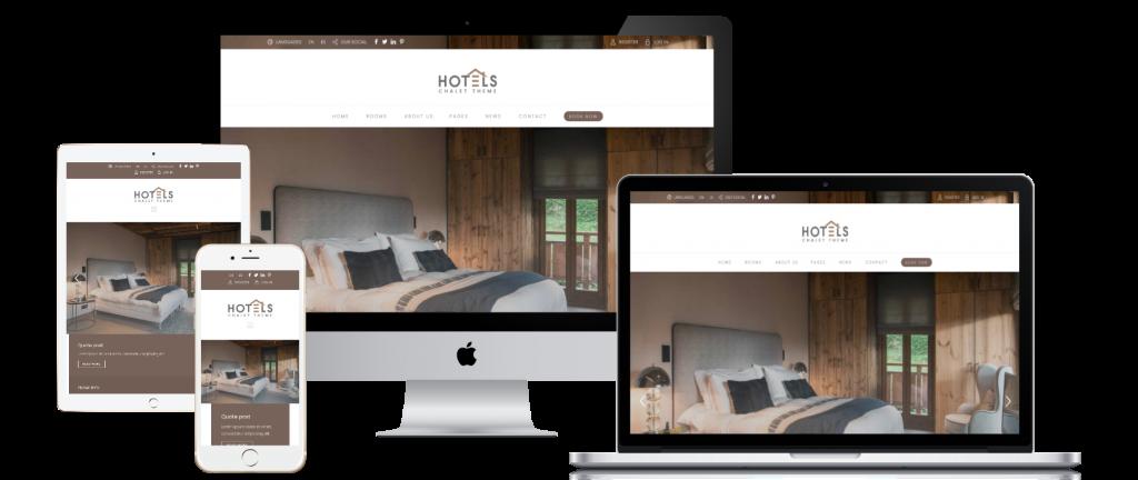 ทำเว็บไซต์โรงแรม เว็บจองรีสอร์ท เว็บที่พัก เว็บห้องพัก